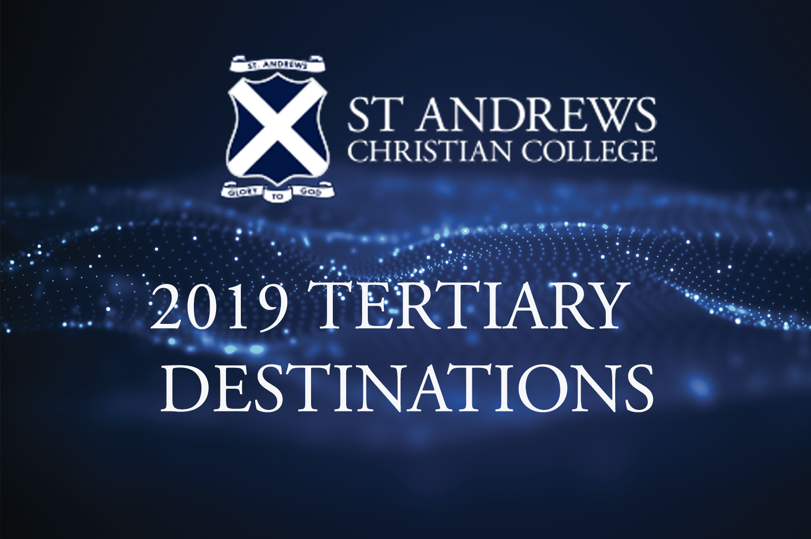 2019 Tertiary Destinations