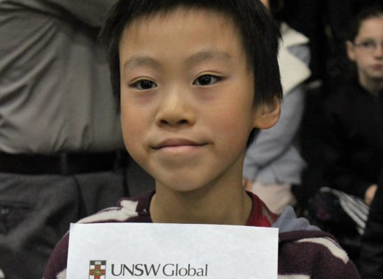 ICAS Science Competition: Congratulations to Chris Qiu!