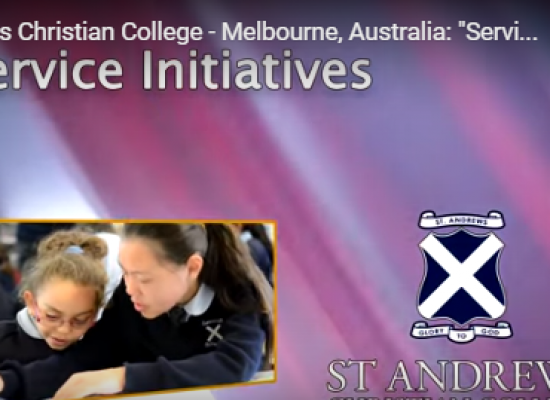 """Service"" at St Andrews Christian College"