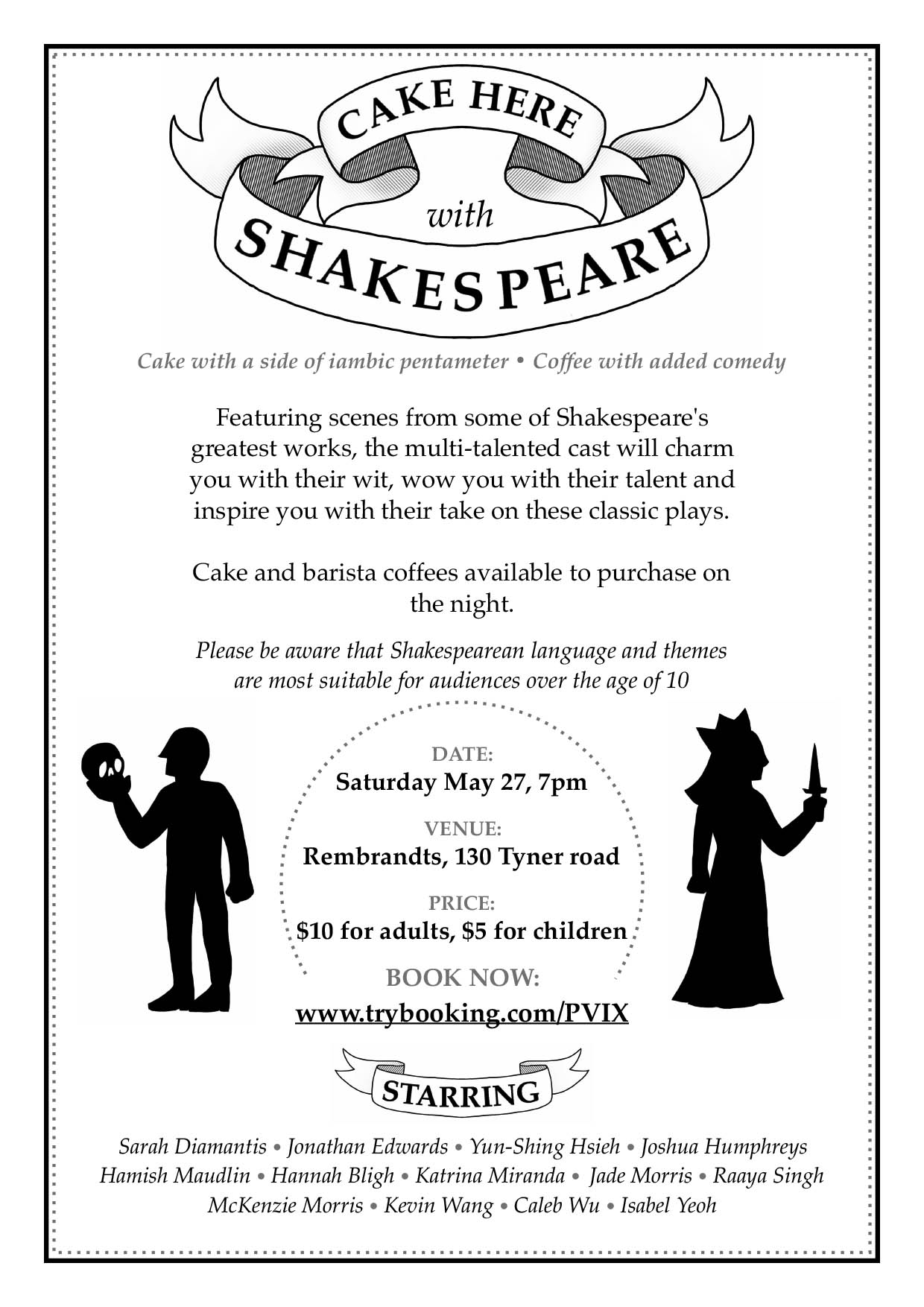 Shakespeare Flyer