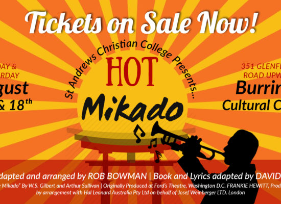 Hot Mikado – The 2018 St Andrews Christian College Production