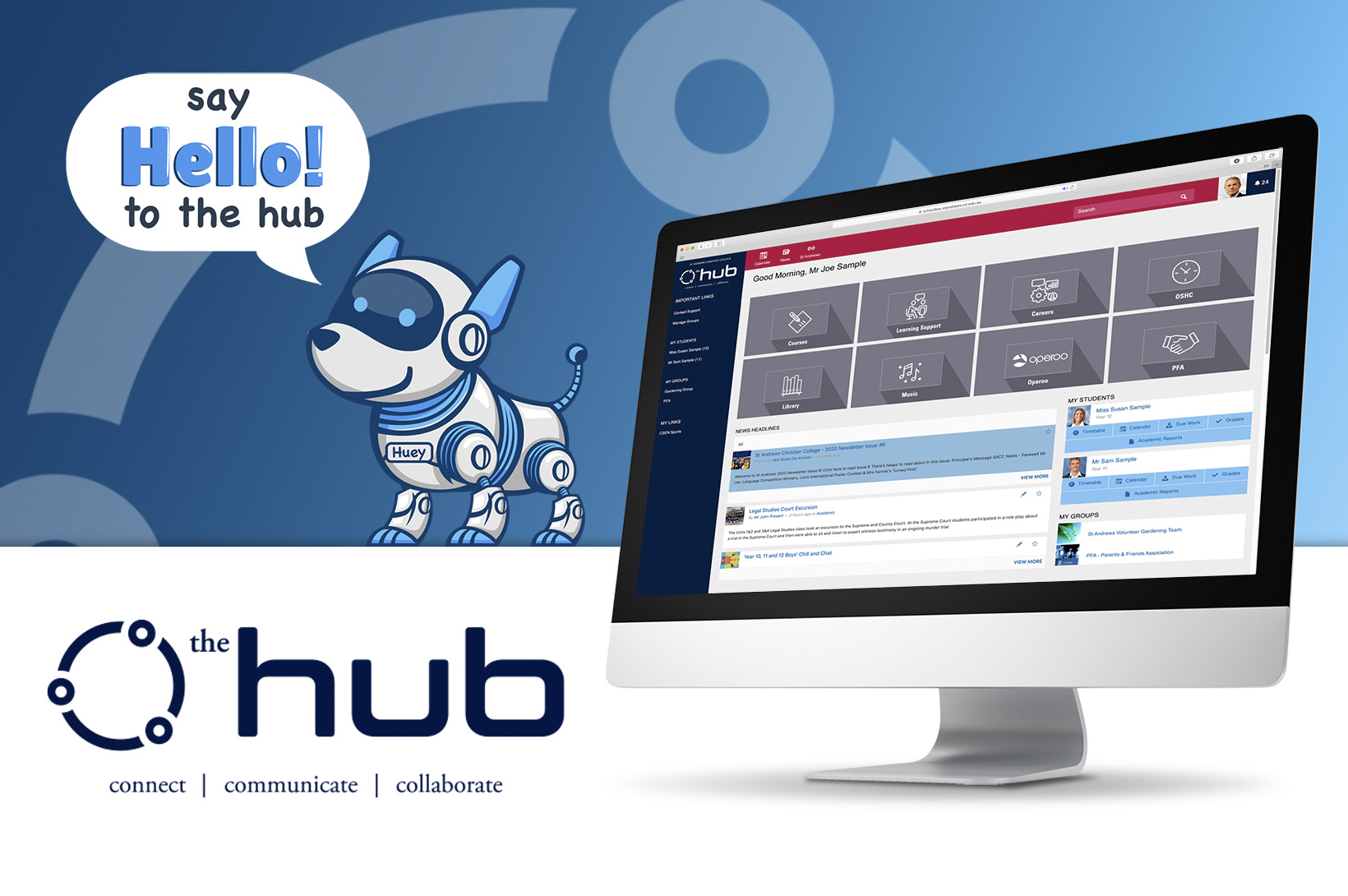 Say Hello to 'the hub'