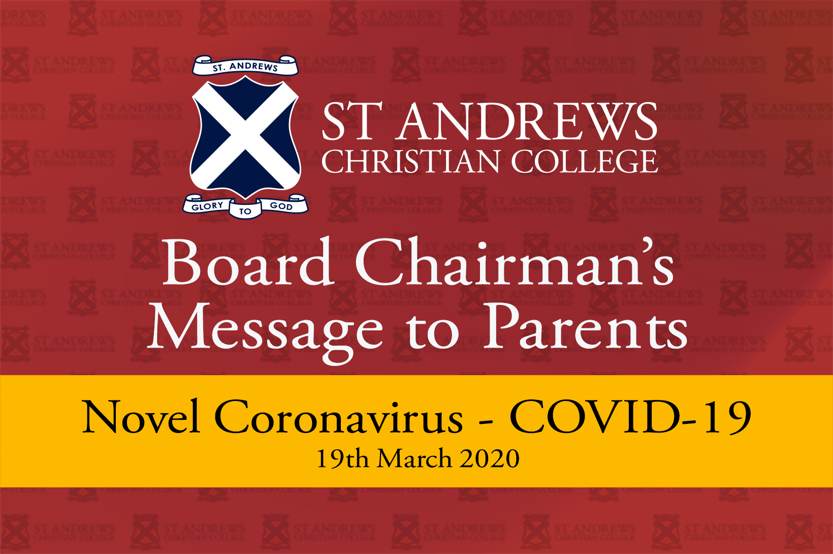 Board Chairman's Message