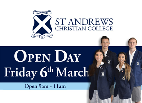 Open Day – Friday 6th March
