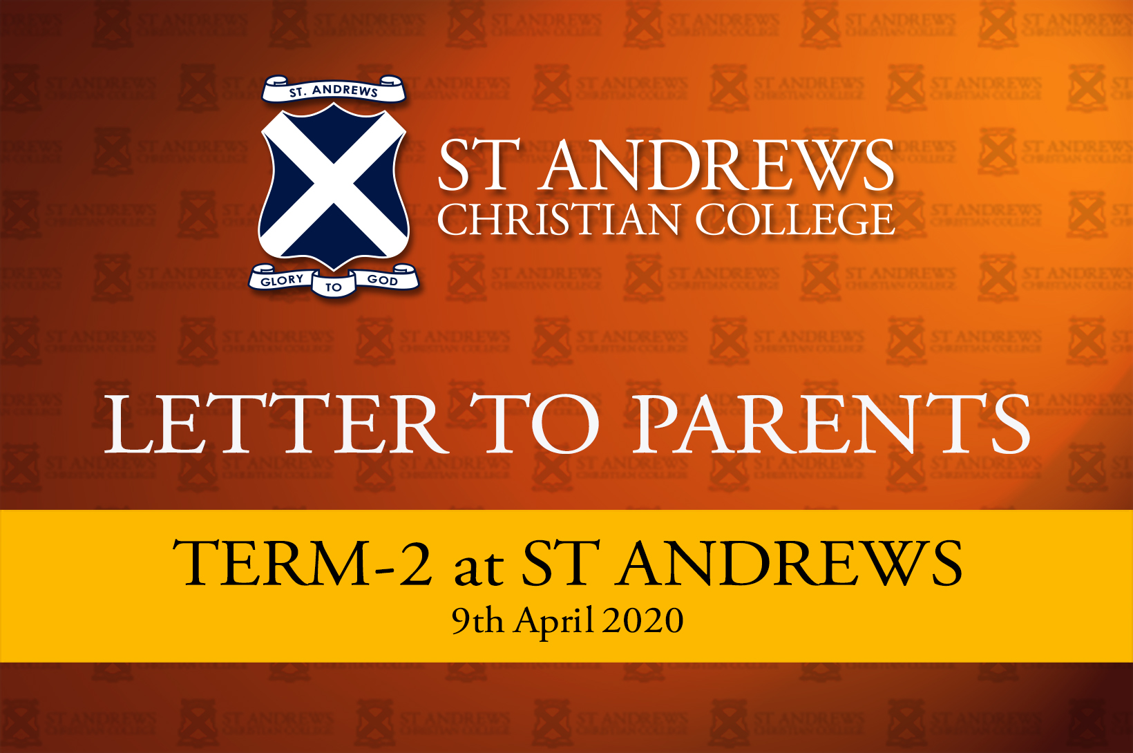 Term 2, 2020 at St Andrews Christian College