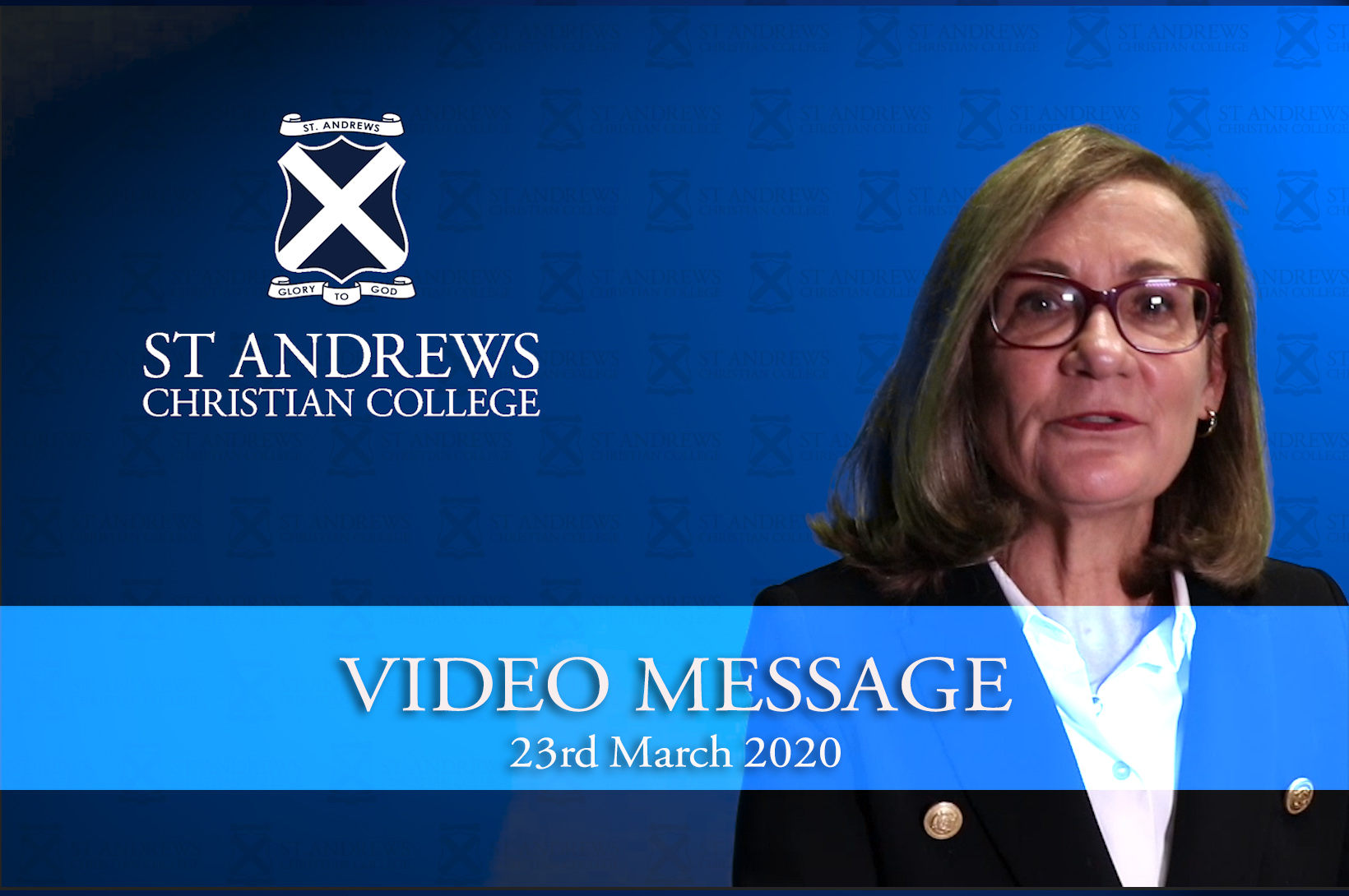 Video Message from School Principal