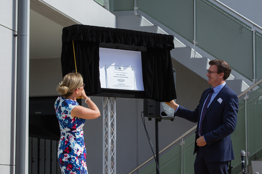 Opening Ceremony of Innovation Centre and Senior School Building