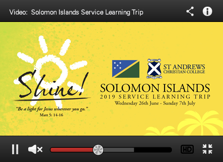 Solomon Islands 'Shine' Videos