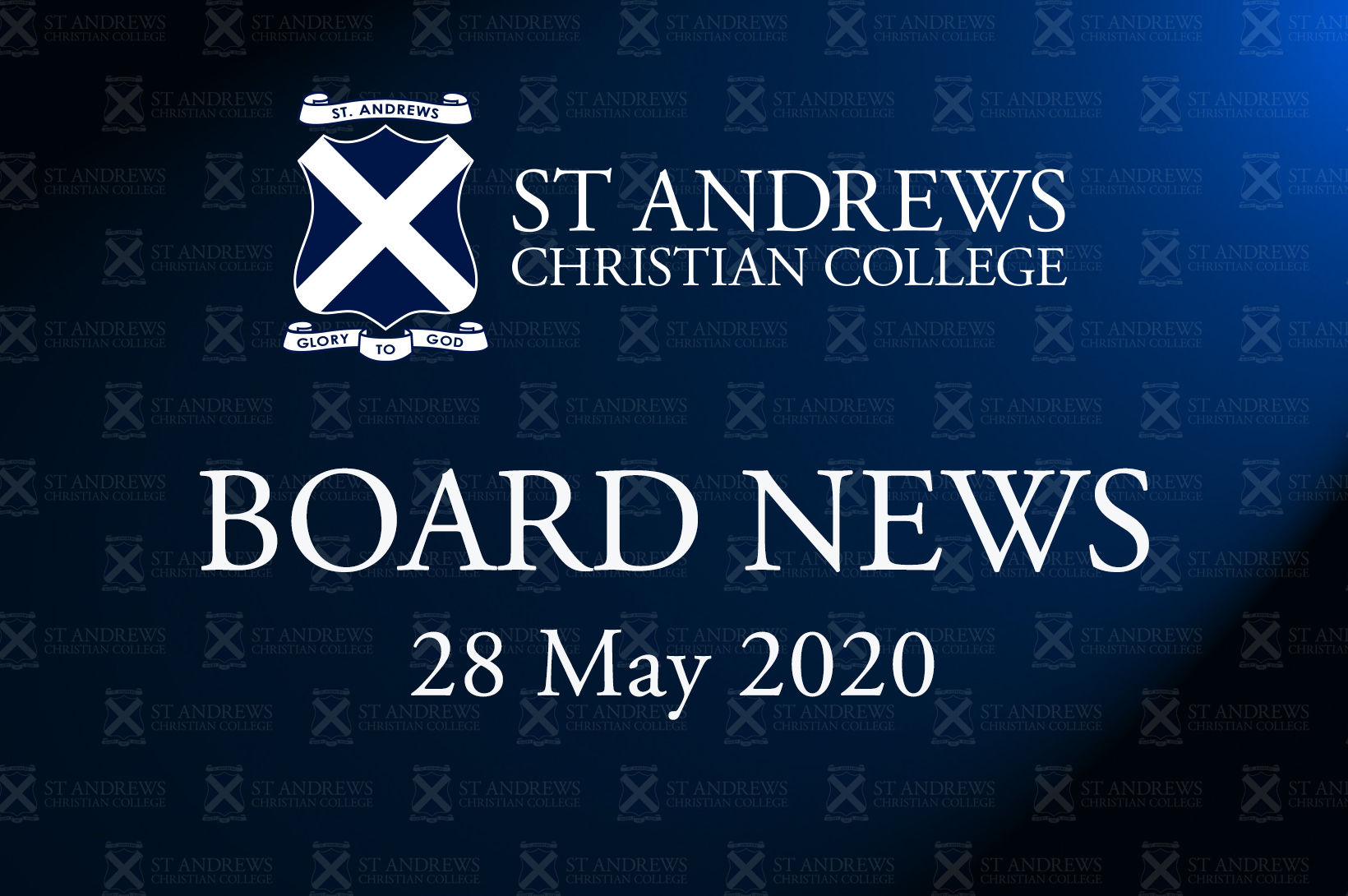 Board News – May 2020