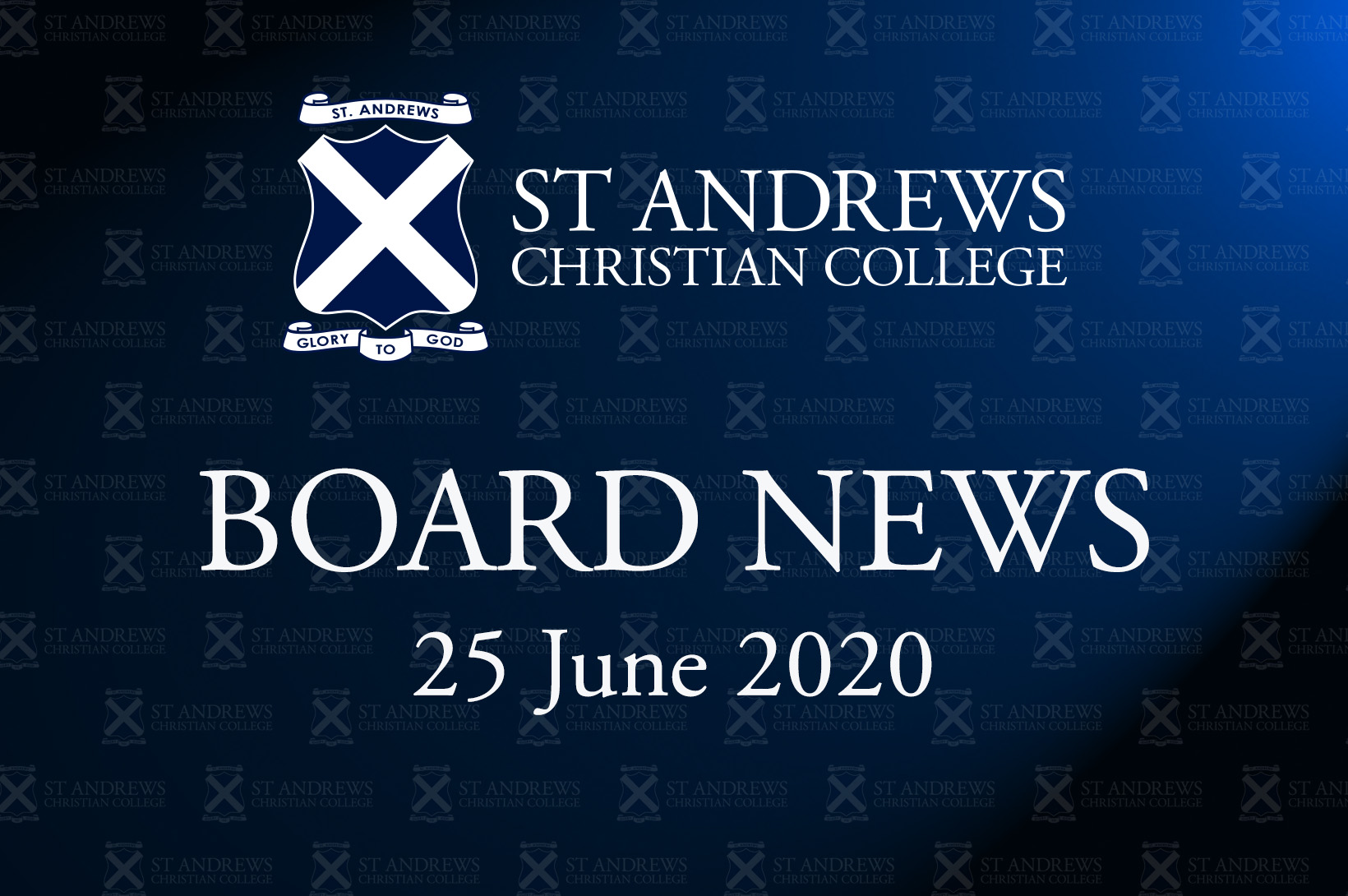 Board News – June 2020