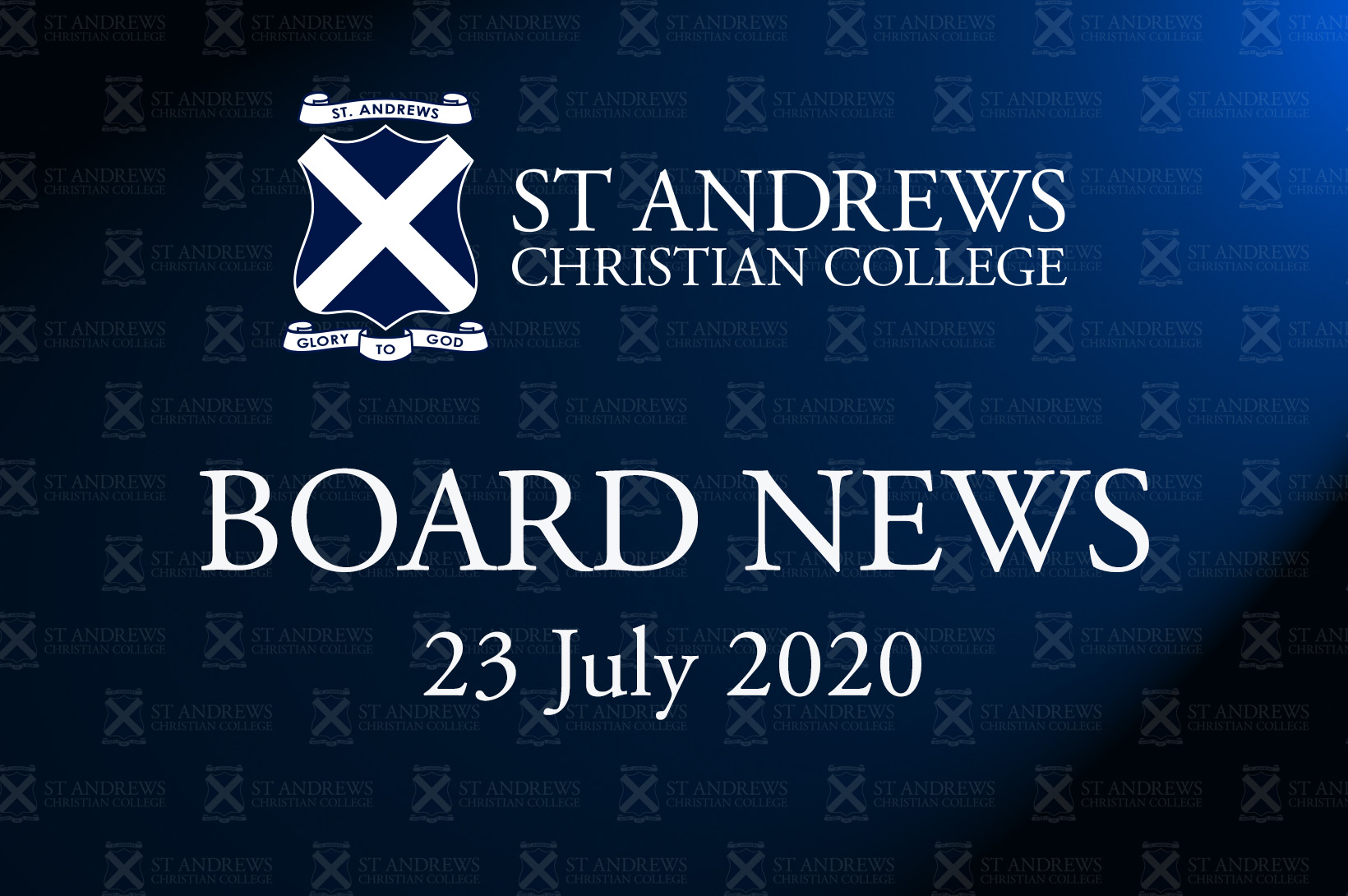 Board News – July 2020